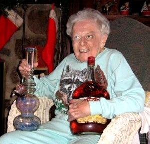 My grandma.