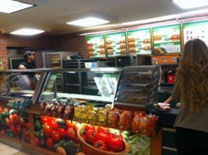 Le Subway Melt, s'il vous plait.