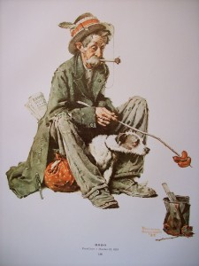 Remember, kids: hobos look like this and don't bathe because they are poor, whereas hipsters should be fired into the sun.