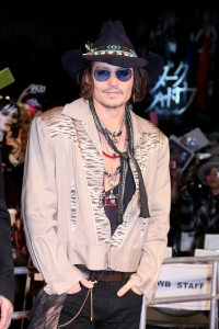 Frankly, Johnny Depp typically looks as though that's what he smells like anyway.