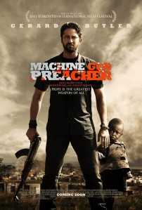 I can see why they replaced Dakota Fanning, but swapping Denzel for Gerard Butler? That's just stupid.