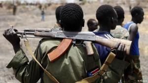 Way to bring me down, impending civil war in South Sudan.
