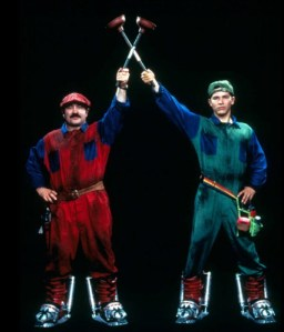 Eric (left) with his brother, Luigi.