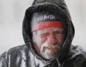 Even the Cap'n is sick of winter.