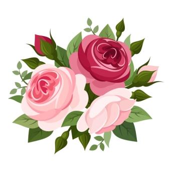 Elegant-flowers-bouquet-vector-03