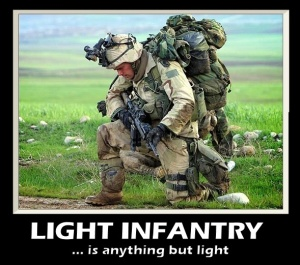 I'm not light infantry but I feel this dude's pain.