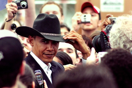 It's not like all of our leaders wear cowboy hats...wait...